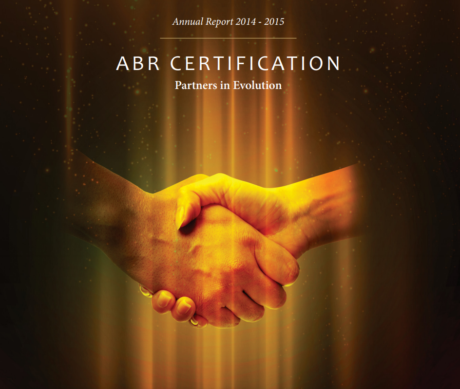 Abr 2014 2015 Annual Report The American Board Of Radiology