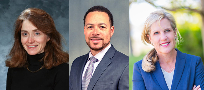 New ABR trustees Pamela Propeck, MD; Paul J. Rochon, MD; and Catheryn Yashar, MD.